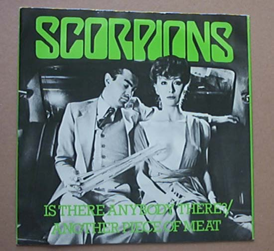 SCORPIONS - Is There Anybody There Album