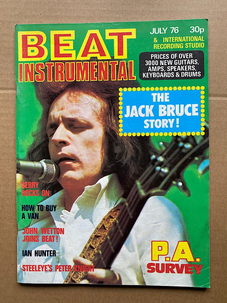 JACK BRUCE - BEAT INSTRUMENTAL