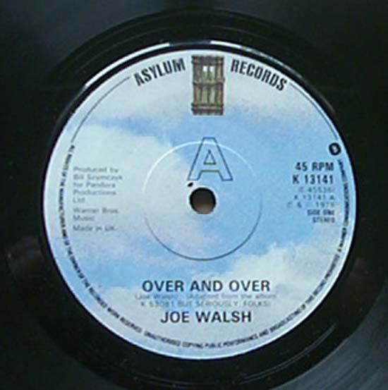 Over And Over - JOE WALSH