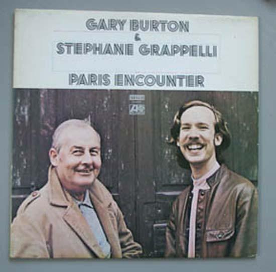GARY BURTON + STEPHANE GRAPPELLI - PARIS ENCOUNTER