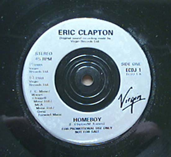 ERIC CLAPTON - Homeboy LP