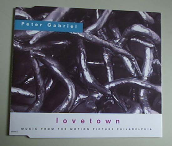 PETER GABRIEL - LOVETOWN - CD single