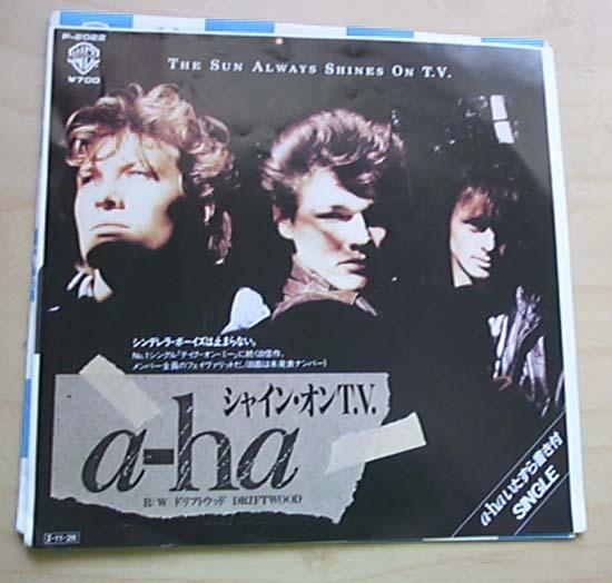 A-Ha The sun always shines on tv (Vinyl Records, LP, CD ...
