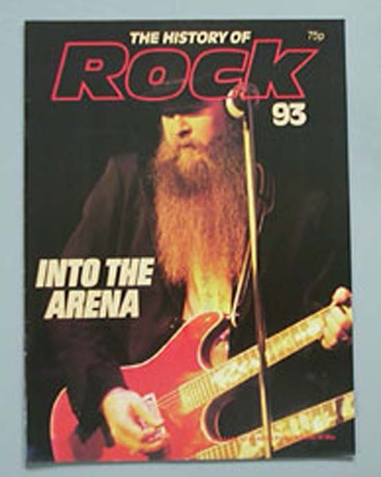 ZZ TOP - HISTORY OF ROCK 93