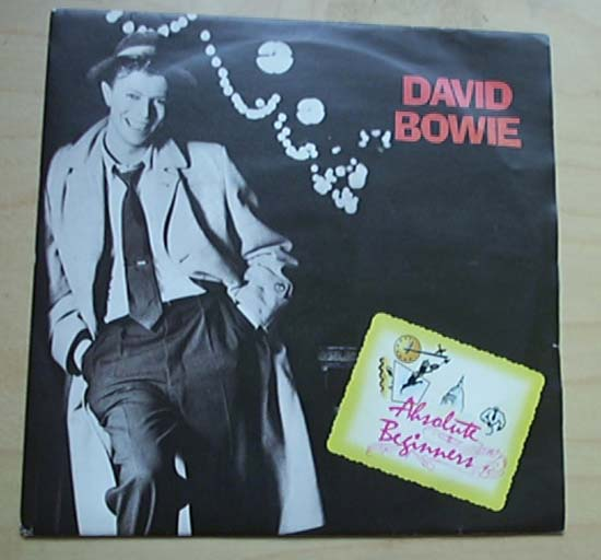 DAVID BOWIE - Absolute Beginners Single