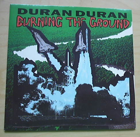 DURAN DURAN - Burning The Ground LP