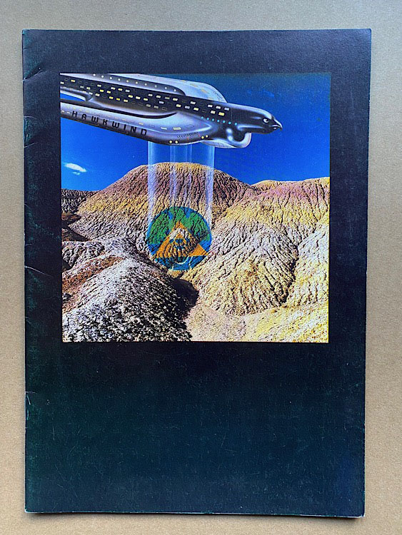 HAWKWIND - LEVITATION 1980 TOUR - Concert Program