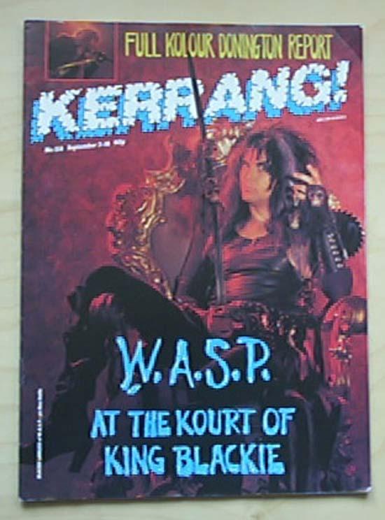 WASP - KERRANG NO.154