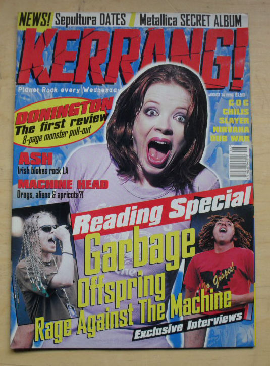 GARBAGE - KERRANG NO.611