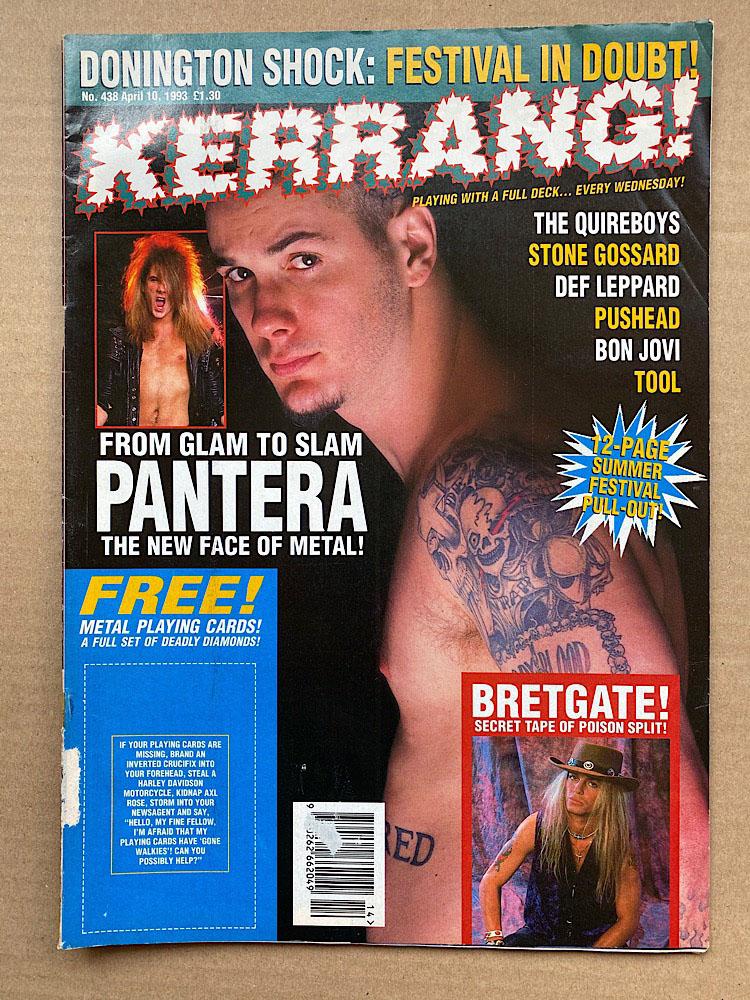 PANTERA - KERRANG NO.438
