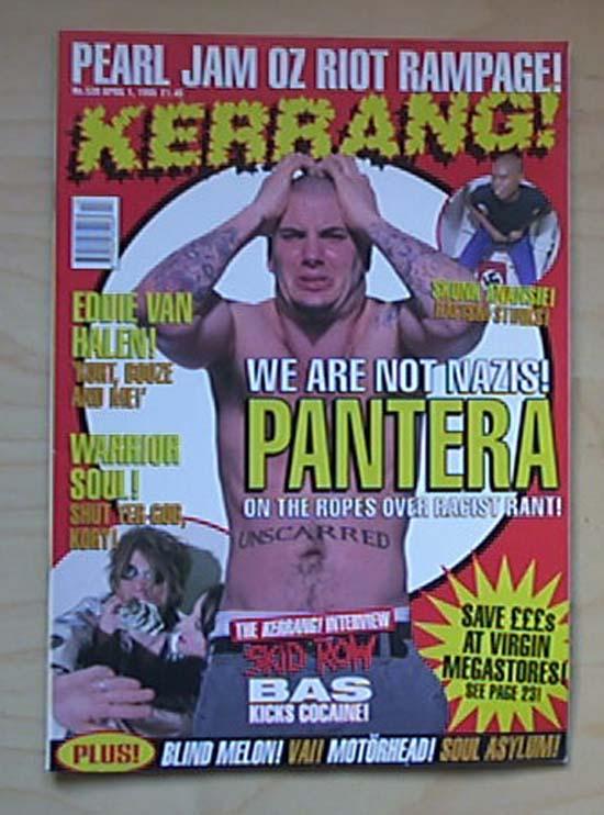 PANTERA - KERRANG NO.539