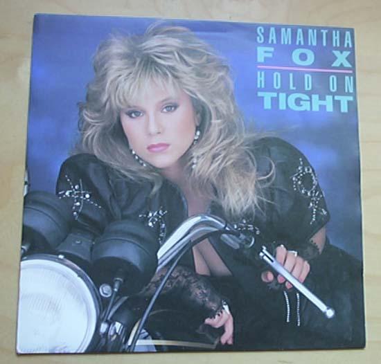 SAM FOX - HOLD ON TIGHT