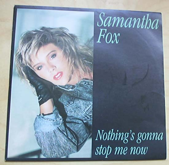 SAM FOX - NOTHINGS GONNA STOP ME NOW