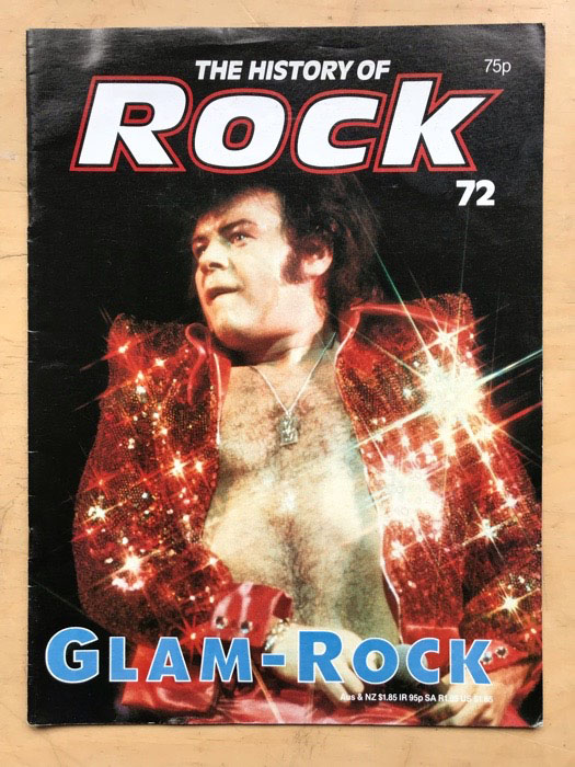 GARY GLITTER - HISTORY OF ROCK 72