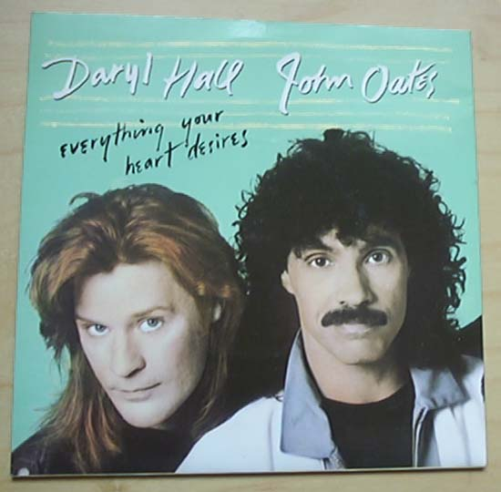 HALL + OATES - EVERYTHING YOUR HEART DESIRES