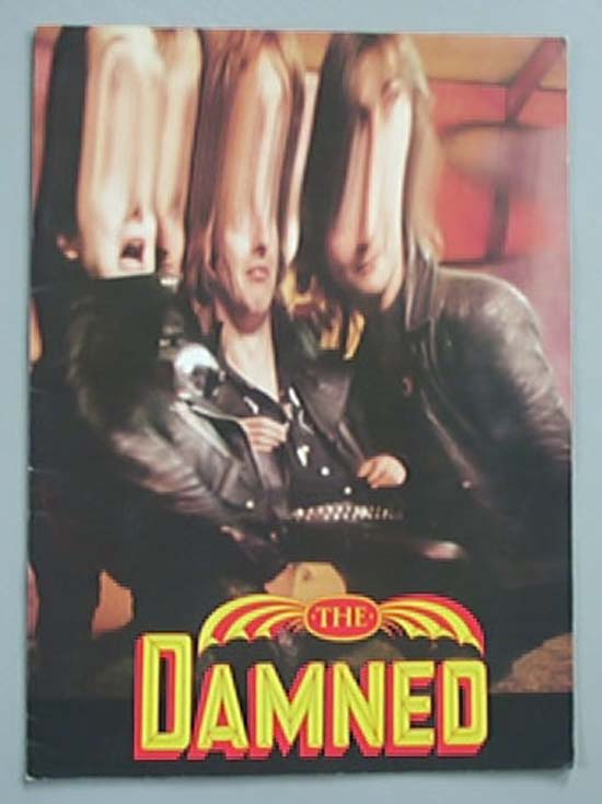 DAMNED - ANYTHING TOUR