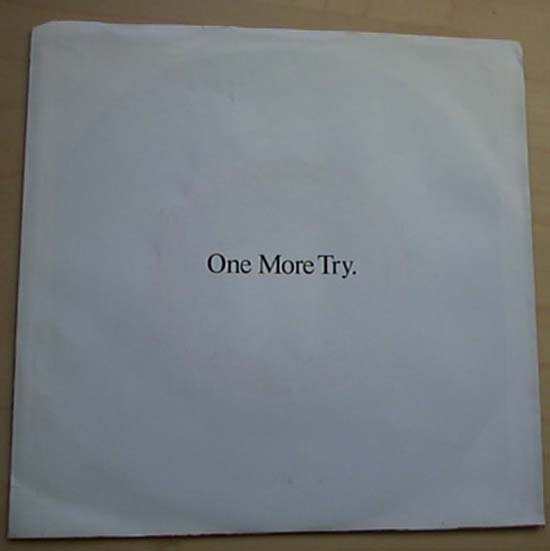 GEORGE MICHAEL - One More Try LP