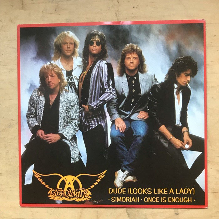 AEROSMITH - Dude Looks Like A Lady Record