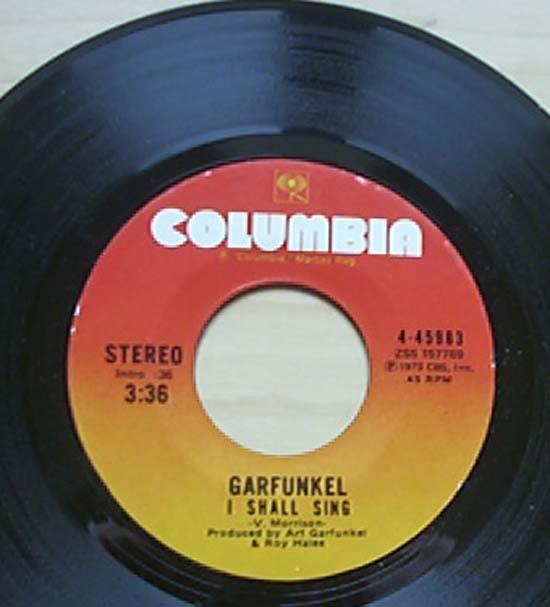 GARFUNKEL - I SHALL SING