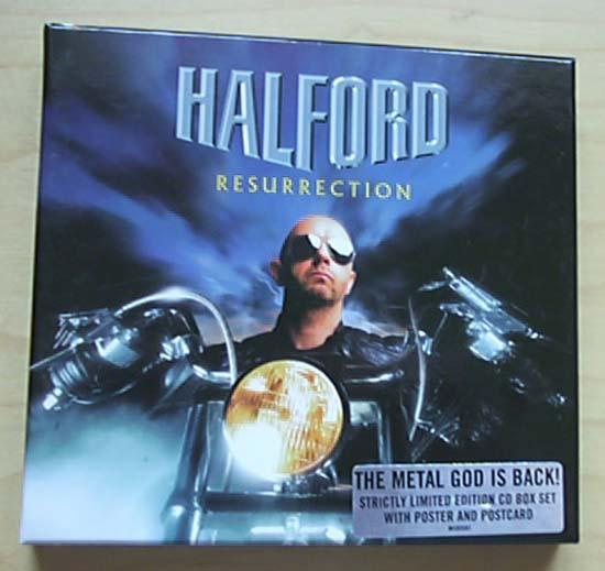 HALFORD - RESURRECTION(BOX)