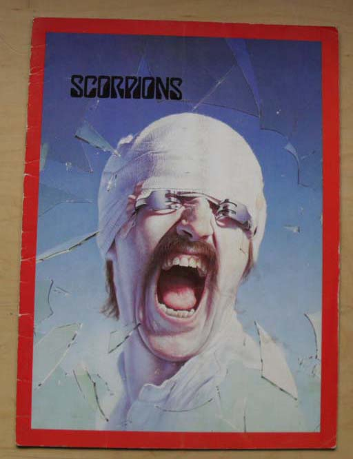SCORPIONS - Blackout Uk Tour 1982