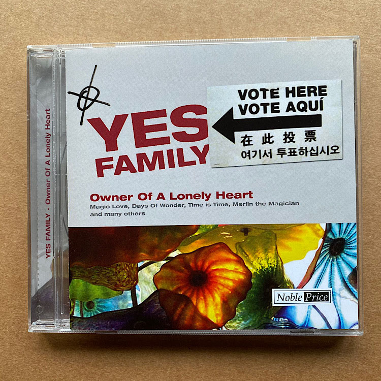 YES FAMILY - OWNER OF A LONELY HEART