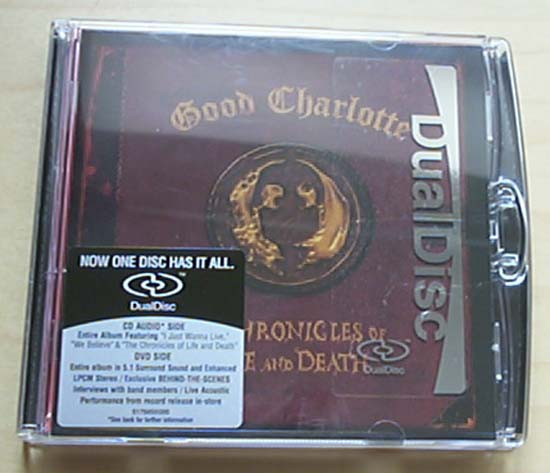 GOOD CHARLOTTE - CHRONICLES OF LIFE AND DEATH - CD