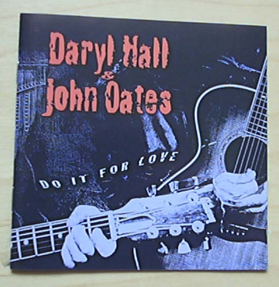 HALL + OATES - DO IT FOR LOVE