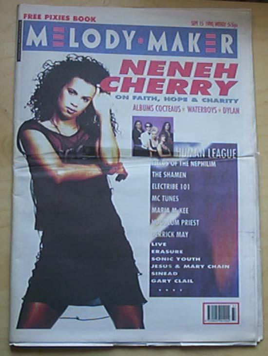 NENEH CHERRY - MELODY MAKER - Magazine