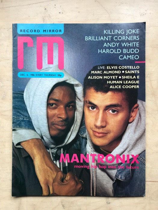 MANTRONIX - RECORD MIRROR - Magazine