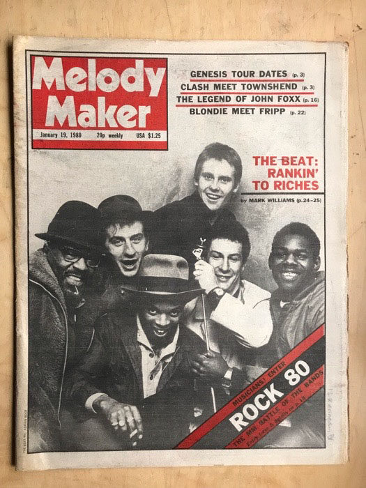 The Beat Melody Maker Records Lps Vinyl And Cds Musicstack