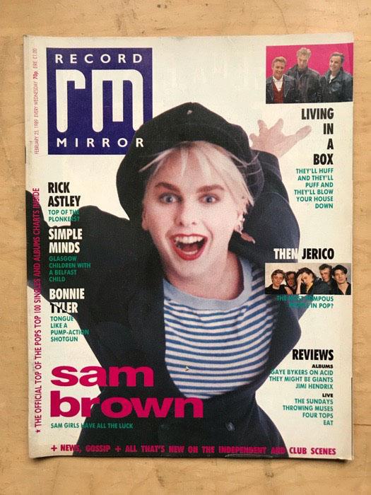 SAM BROWN - RECORD MIRROR