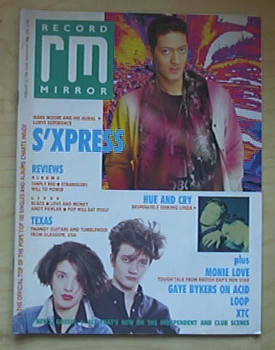 S'XPRESS - RECORD MIRROR