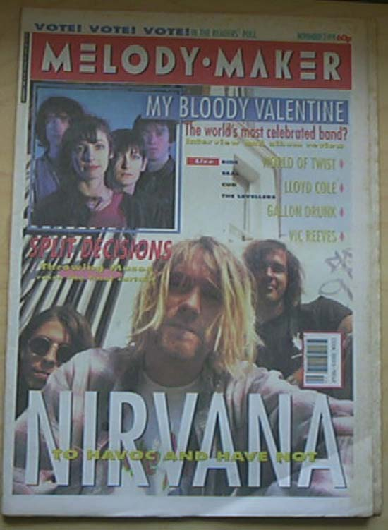 NIRVANA - Melody Maker Record