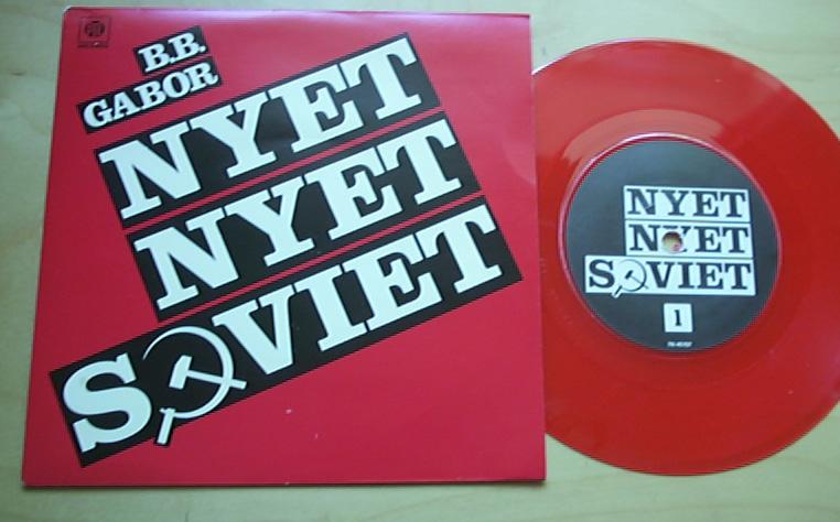 B.B. GABOR - NYET NYET SOVIET (RED)