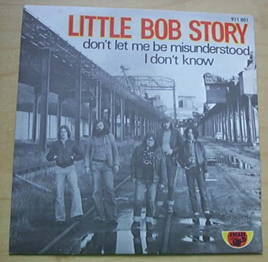 LITTLE BOB STORY - DON'T LET ME BE MISUNDERSTOOD - 7inch x 1
