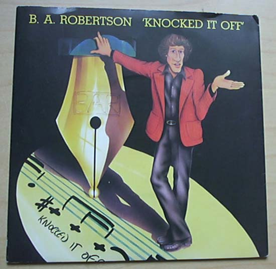 B A ROBERTSON - KNOCKED IT OFF