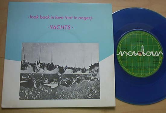 YACHTS - LOOK BACK IN LOVE (BLUE)