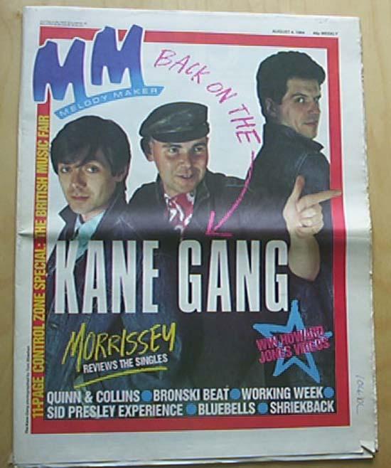 KANE GANG - MELODY MAKER