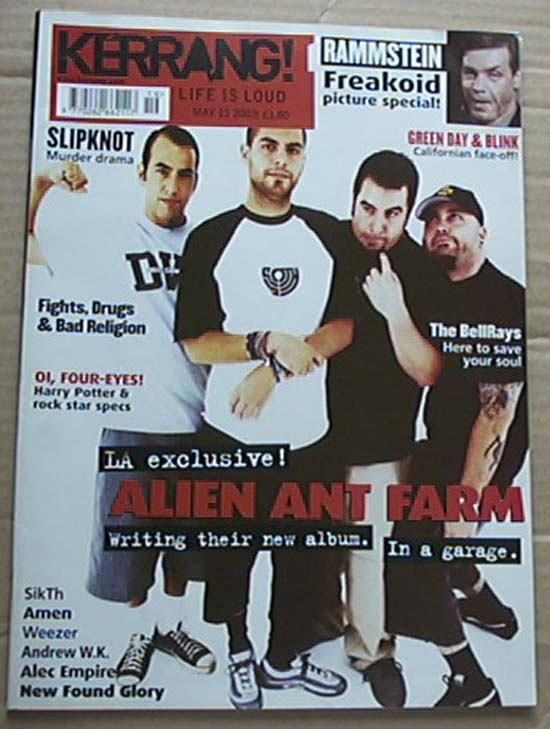 ALIEN ANT FARM - KERRANG NO.903