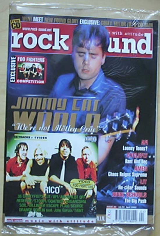 JIMMY EAT WORLD - ROCK SOUND #35