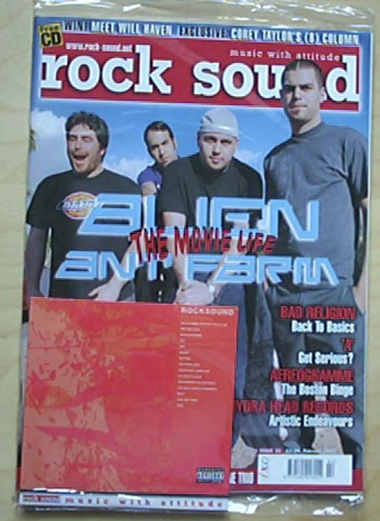 ALIEN ANT FARM - ROCK SOUND #33