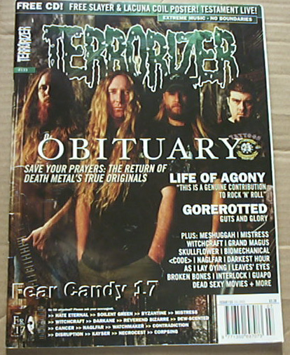 OBITUARY - TERRORIZER #133