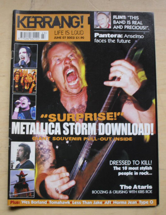 METALLICA - Kerrang No.958