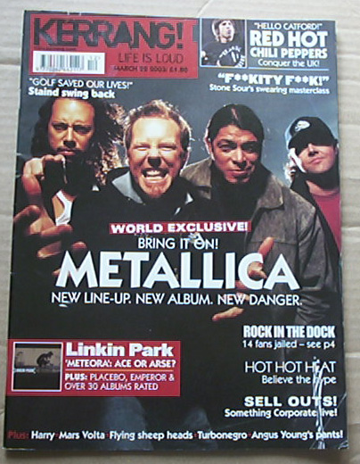 METALLICA - Kerrang No.947