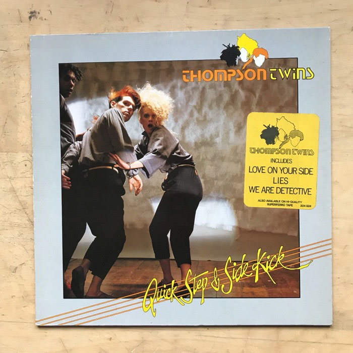 THOMPSON TWINS - Quick Step And Side Kick Album