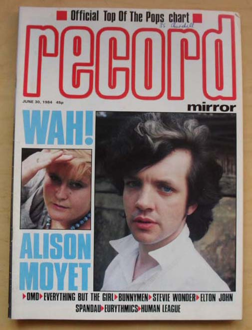 WAH! - RECORD MIRROR