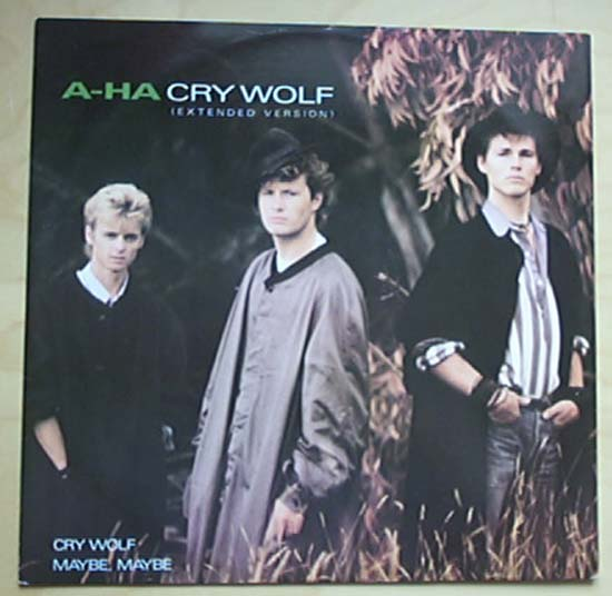 A-HA - Cry Wolf Record