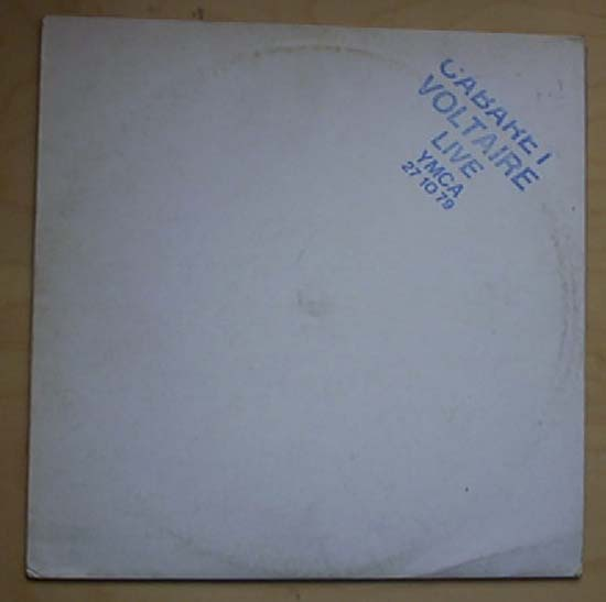 CABARET VOLTAIRE - LIVE AT THE YMCA