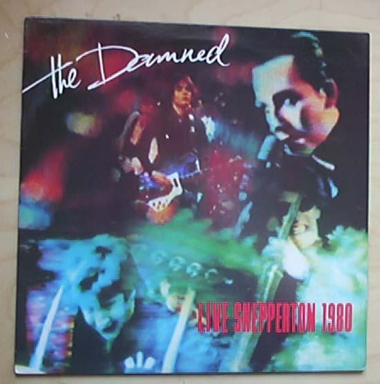 DAMNED - LIVE SHEPPERTON 1980